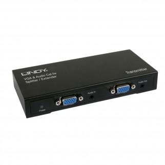 CAT5e/6 VGA & Audio Extender, 4 Port Transmitter