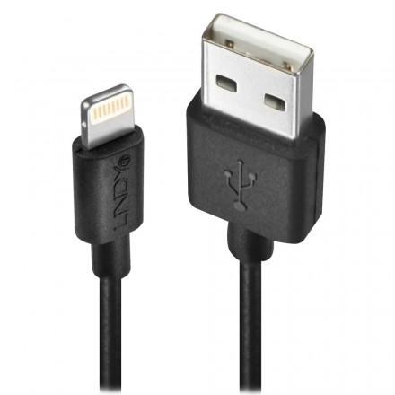 0.5m USB to Apple Lightning Cable, Black