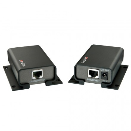 2km CAT5e/6 USB to RS-232 Serial Extender