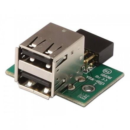 USB 2.0 Motherboard Header Adapter