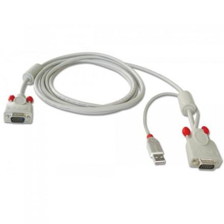 2m USB & VGA KVM Cable for U8/U16 KVM Switch