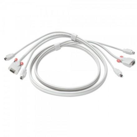 3m PS/2 & VGA Premium KVM Combo Cable