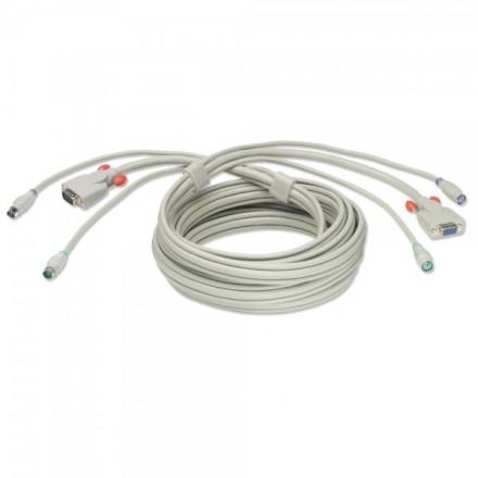 2m PS/2 & VGA Premium KVM Extension Cable