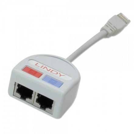 UTP Port Doubler, Ethernet + Voice to 1 Port