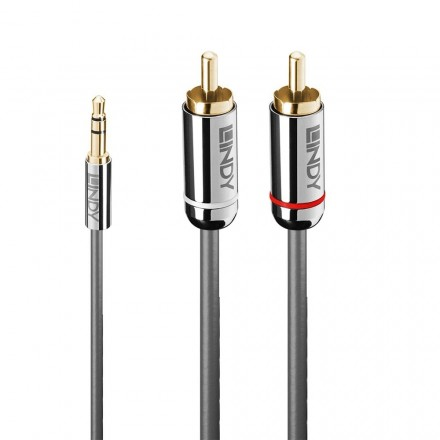 10m 3.5mm to Dual RCA Audio Cable, Cromo Line