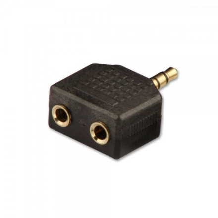 3.5mm Stereo Jack Male to 2 x 3.5mm Female Audio A