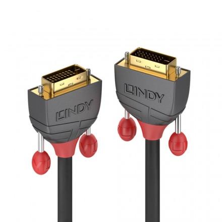 0.5m DVI-D Dual Link Cable, Anthra Line