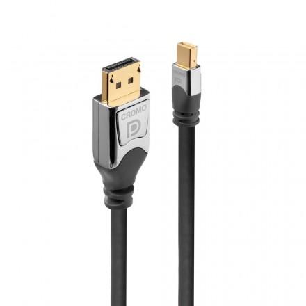 0.5m Mini DisplayPort to DisplayPort Cable, Cromo