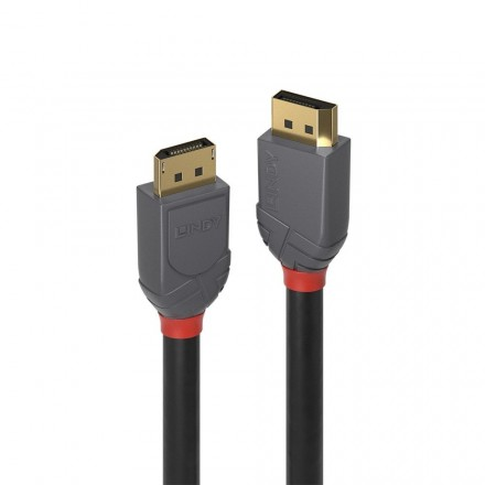 0.5m DisplayPort 1.4 Cable, Anthra Line