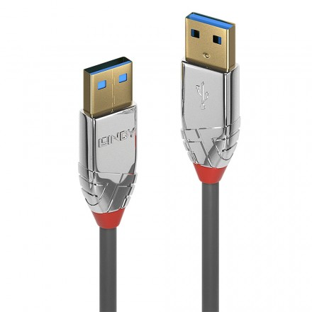 1m USB 3.0 Type A to A Cable, Cromo Line