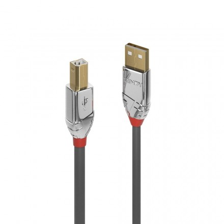 0.5m USB 2.0 Type A to B Cable, Cromo Line