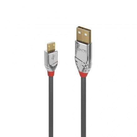 5m USB 2.0 Type A to Micro-B Cable, Cromo Line