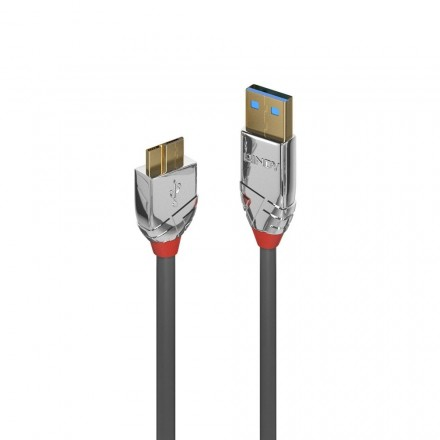 1m USB 3.0 Type A to Micro-B Cable, Cromo Line