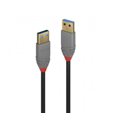 0.5m USB 3.0 Type A to A Cable, Anthra Line