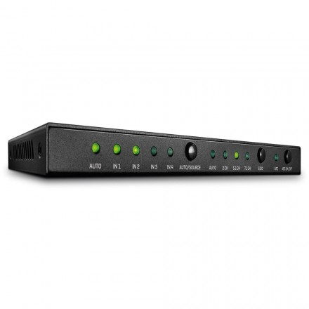 4 Port HDMI 2.0 18G Switch with Audio