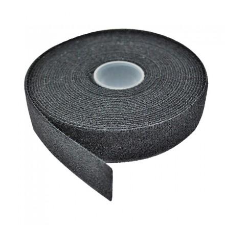 Hook & Loop Cable Tie Roll, Black, 5m