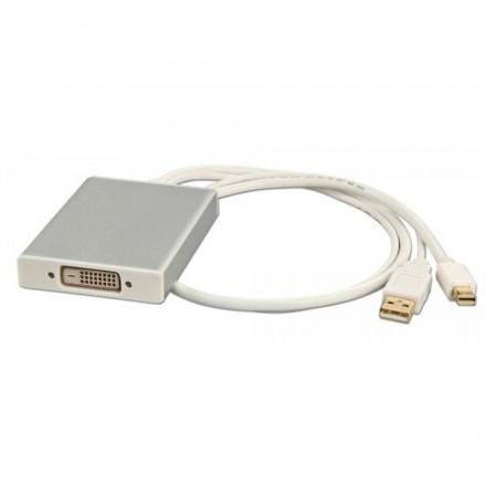Mini DisplayPort to Dual Link DVI-D Converter