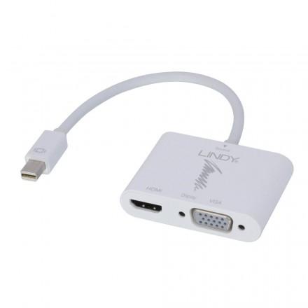 Mini DisplayPort 1.2 to HDMI 1.4 & VGA Converter