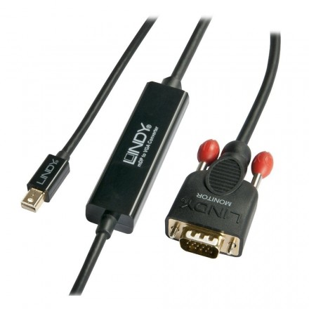 1m Mini DisplayPort to VGA Cable, Black