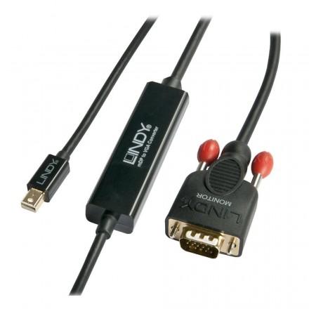 2m Mini DisplayPort to VGA Cable, Black