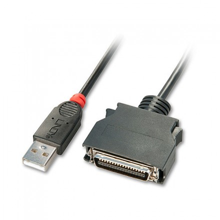 USB to Parallel Converter Cable, Mini C36 Male