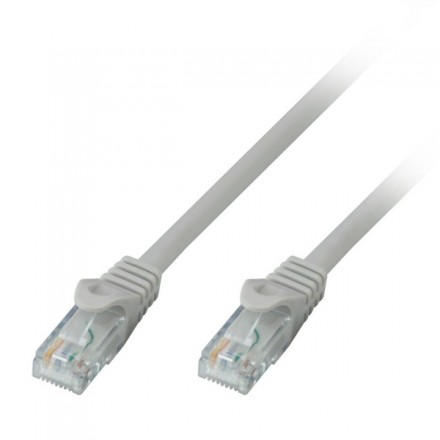 50m CAT.6 U/UTP Solid Core Network Cable, Grey