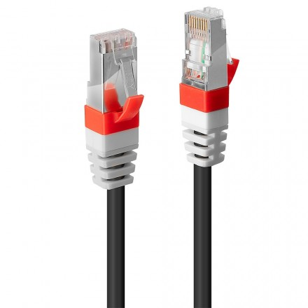 1m CAT.6A S/FTP LSZH Gigabit Network Cable Black