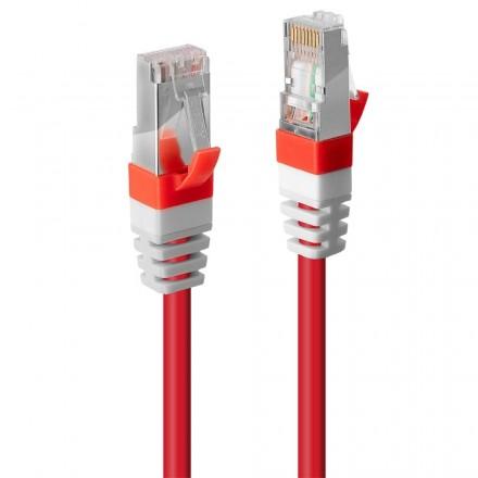 5m CAT.6A S/FTP LSZH Gigabit Network Cable, Red