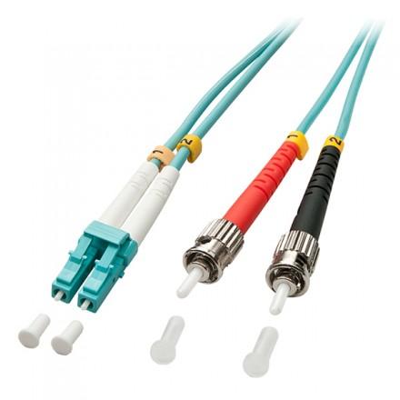 1m Fibre Optic Cable, LC-ST, 50/125μm OM3
