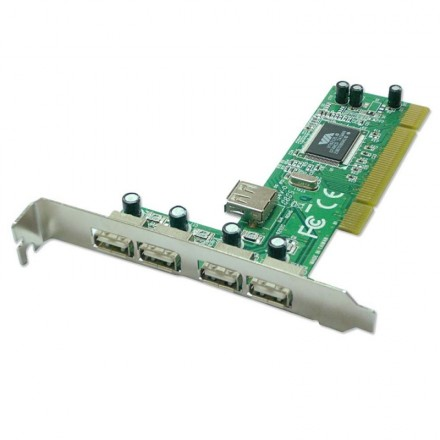4+1 Port USB 2.0 PCI Card