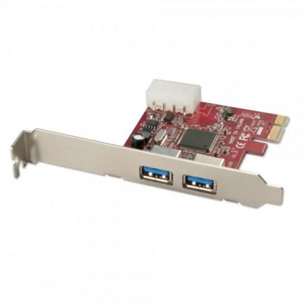 2 Port USB 3.0 PCIe Card Lite