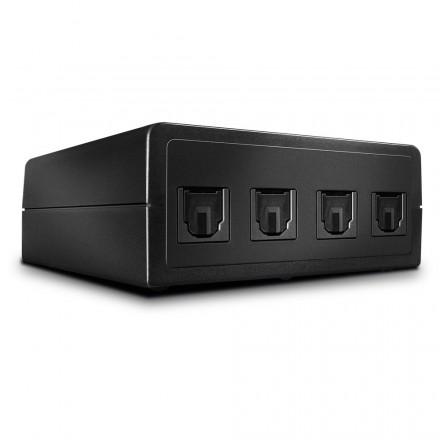 4 Port Automatic Optical Audio Switch