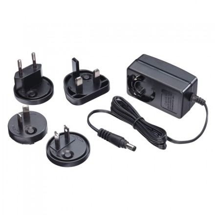 Multi Country AC Power Adapter, 24VDC 1.25A