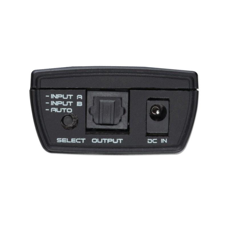 Way Auto TosLink Digital Optical Audio Switch Part No - 2 way optical switch