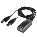 2 Port USB Keyboard & Mouse Switch