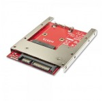"2.5"" SATA Adapter for mSATA SSD (Latching)"