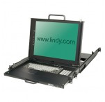 "KVM Terminal Pro with 17"" LCD Display, Dual Rail"