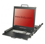 "KVM Terminal Pro with 19"" LCD Display, Dual Rail"