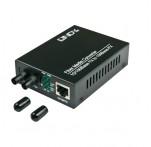 Fast Ethernet Fibre Optic Converter, Multimode ST