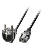 2m Euro Power Cable 3-Pin Plug to IEC C13 Socket