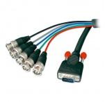 1.8m Premium SVGA to 5 x BNC Monitor Cable