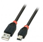 USB 2.0 Cable, Type A to Mini-B, 3m