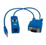 CAT5e/6 VGA & Audio Extender Receiver, 150m