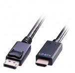 1m DisplayPort to HDMI 10.2G Cable