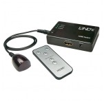 3 Port HDMI Switch with IR Remote