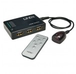 5 Port HDMI Switch with IR Remote