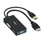 HDMI to DisplayPort, DVI-D & VGA Converter