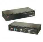 50m CAT5/6 DVI-D, USB & Audio KVM Extender