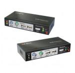 CAT5e/6 KVM Extender Combo, VGA, USB & PS/2