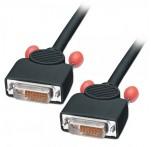 DVI-D Dual Link Cable, M/M, 1m